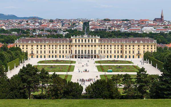 Palacio de Schönbrunn, en Viena