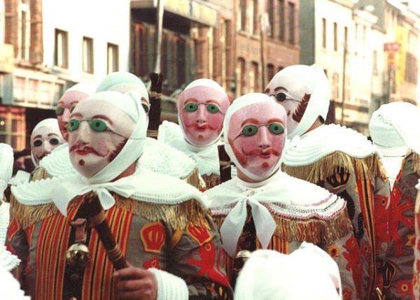 Carnavales de Binche (Bélgica)