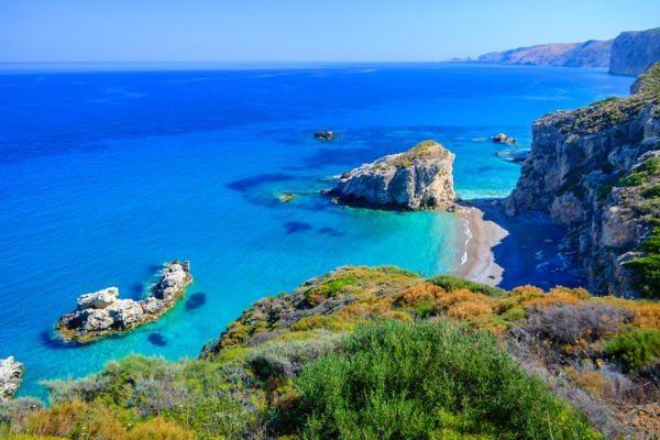 Isla de Citera, en Grecia