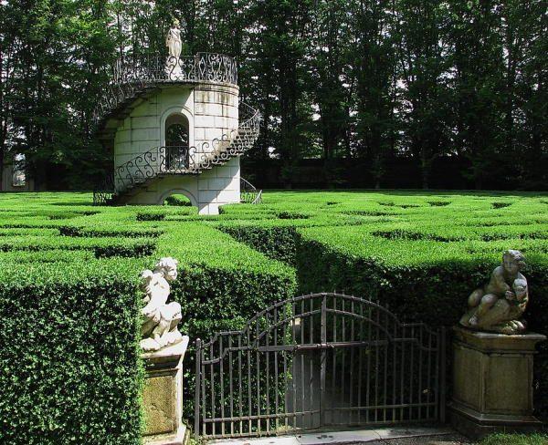 Laberinto de Villa Pisano (Italia)