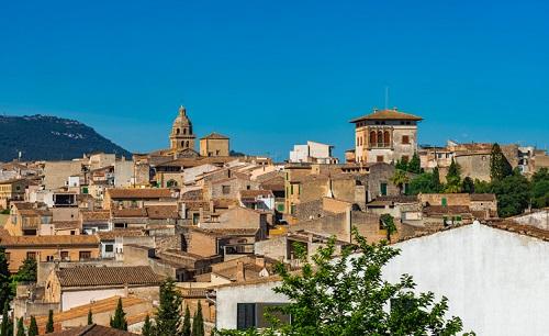 Montuiri, pueblecito de Mallorca
