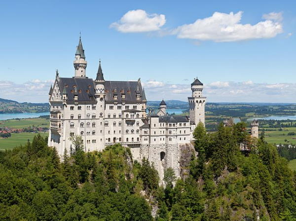 Castillo de Neuschwanstein, en Baviera