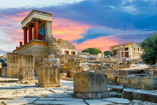 Palacio de Cnossos, en Creta