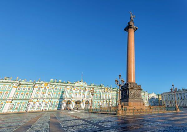 Palacio de Invierno (sede del Museo Hermitage), en San Petersburgo