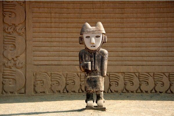 Sitio arqueológico de Chan Chan (Trujillo, Perú)