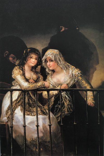 Majas en el balcón (Goya)