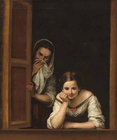 Mujeres en una ventana (Murillo)