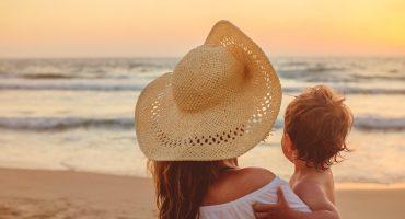 Los 5 mejores destinos para viajar con un bebé