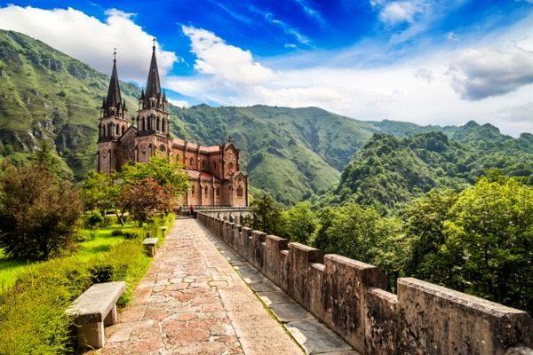 Basílica de Covadonga (Asturias)