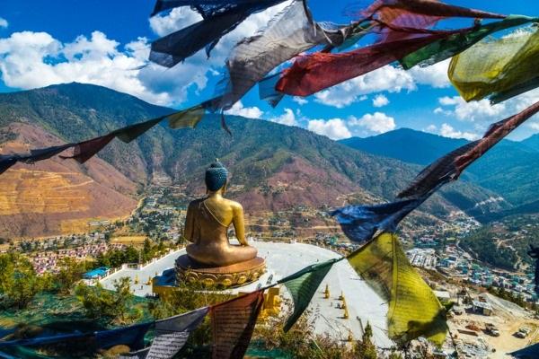 Bhután, uno de los países con mejor calidad del aire del mundo
