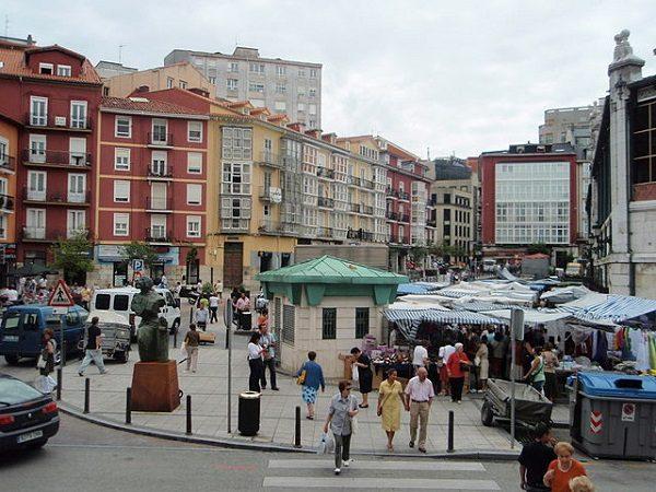 Mercado de la Esperanza, en Santander