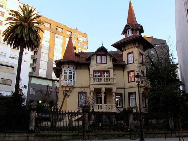 Edificio modernista de Vigo
