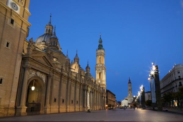 Plaza del Pilar, en Zaragoza