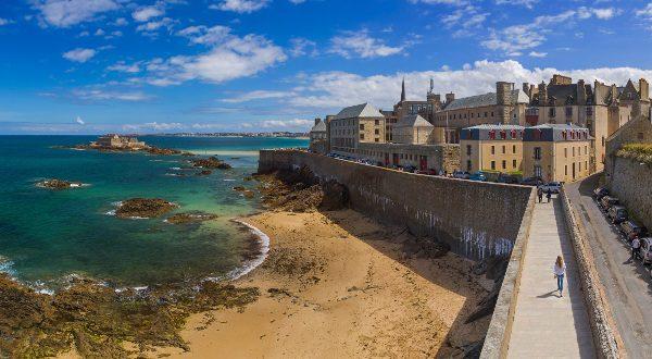 Saint Malo, en la Bretaña francesa