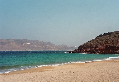 Playa nudista de Paradise Beach (Grecia)