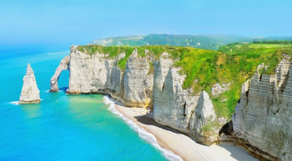 Playa de Etretat