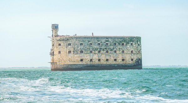 Fort Boyard en la Isla de Ré