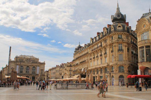 Plaza de la Comedia (Montpellier)