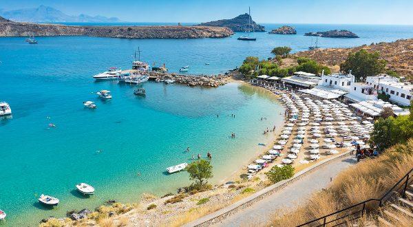 Playa de Lindos (Grecia)