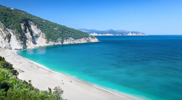 Playa de Myrtos (Grecia)
