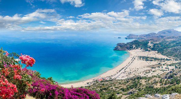 Playa de Tsambika (Grecia)