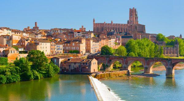 Albi, en los alrededores de Toulouse
