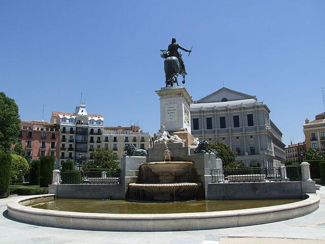 Plaza de Oriente (Madrid