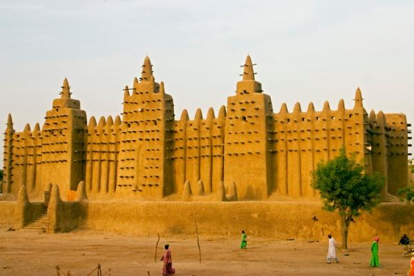 Mezquita de barro (Mali)