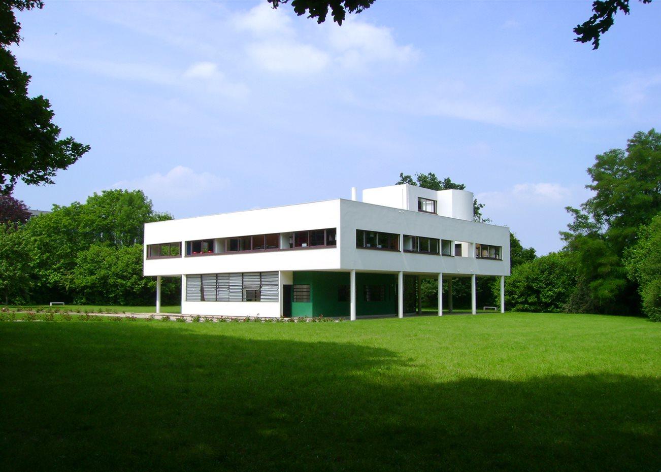 Ville Savoye, de Le Corbusier