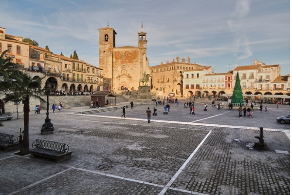 Plaza Mayor de Trujillo (Extremadura)