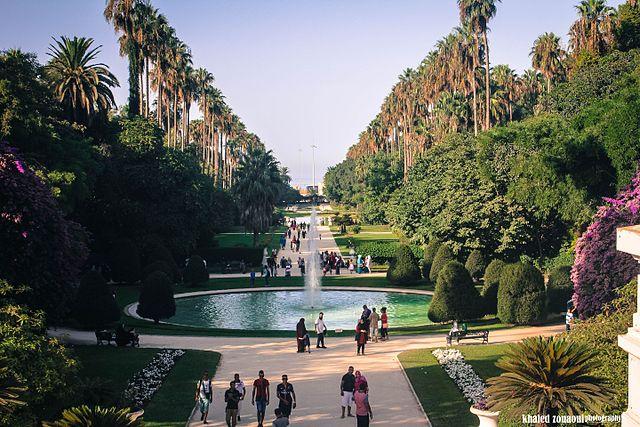 Jardín Botánico El Hamma (Argel)
