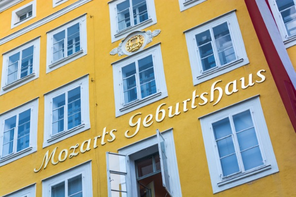 Casa natal de Mozart (Salzburgo)