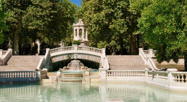 Jardín Darcy en Dijon