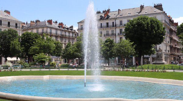 Plaza Victor Hugo de Grenoble