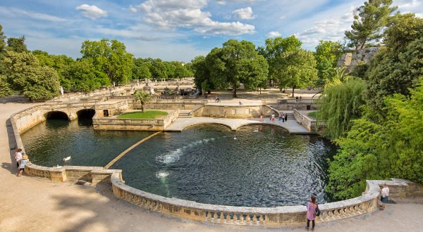 Jardines Fontaine en Nimes
