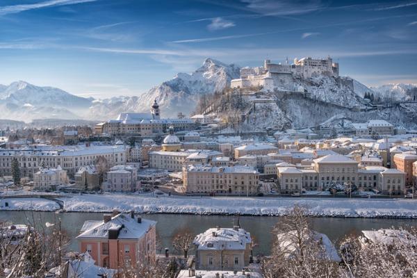 Salzburgo nevado