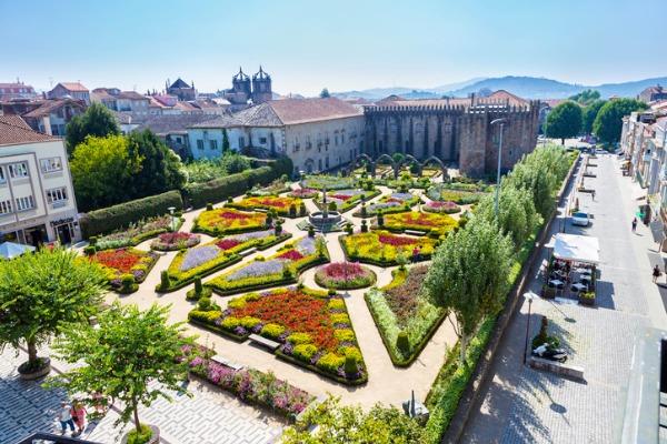 Jardín de Santa Bárbara (Braga)