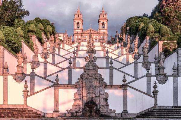 Escalinata de Braga (Portugal)