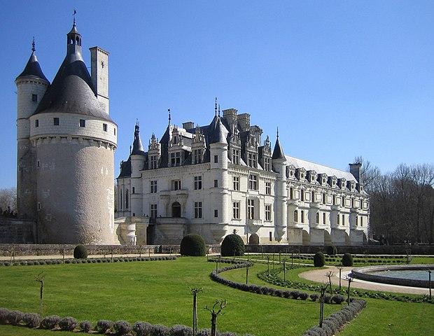 Castillo de Chenoceau (Francia)
