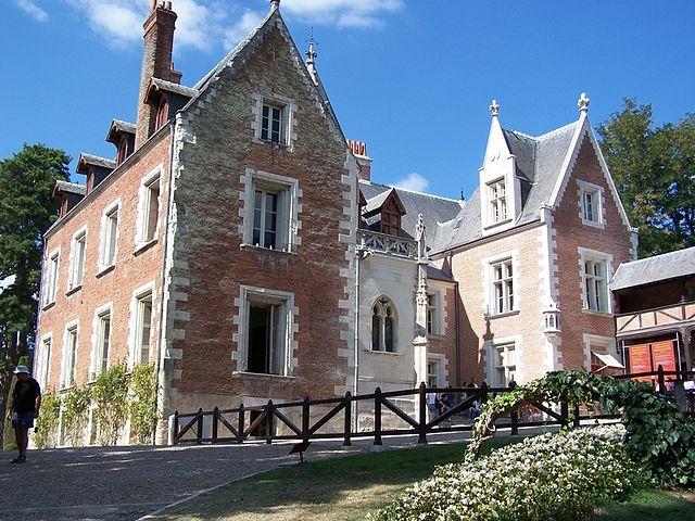 Castillo de Clos Lucé (Francia)