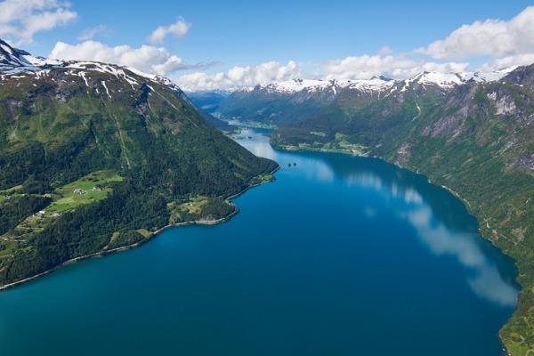 Nordfjord, en Noruega
