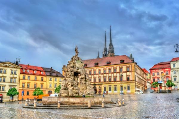 Plaza Zerny en Brno