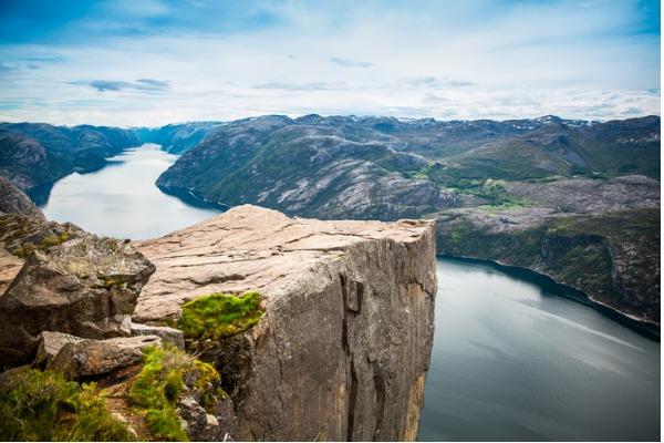 Acantilado de Hornelen (Noruega)