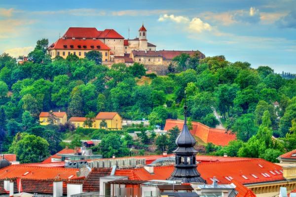 Castillo de Spilberk, en Brno