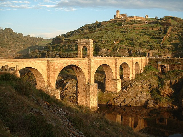 Puente romano de Alcántara, en Cáceres