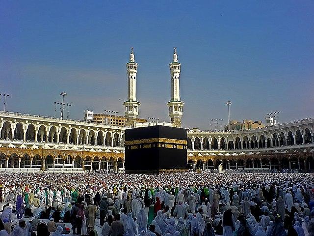 La mezquita de la Meca