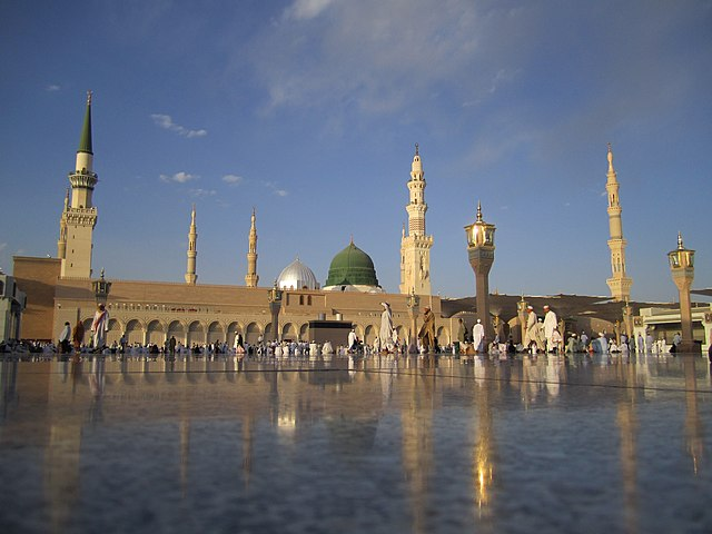 Mezquita del Profeta, en Medina