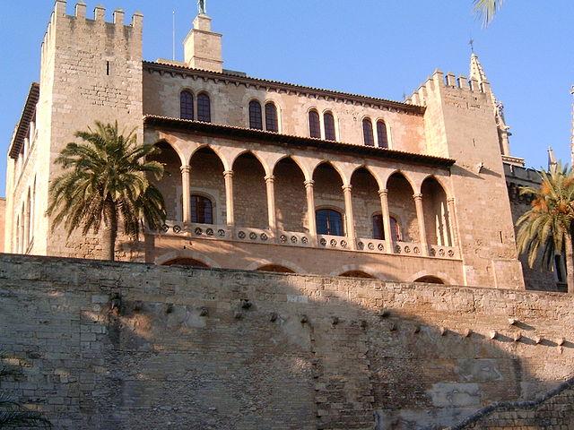 Palacio de la Almudaina, en Palma