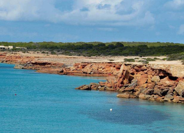 Cala Saona, en Formentera