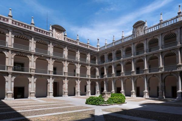 Interior de la Universidad de Alcalá de Henares